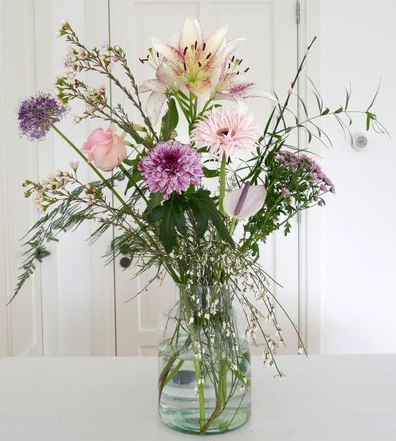 Roze Veldboeket Weekly Flower